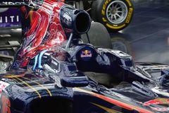 Der Arbeitsplatz von Sebastian Vettel