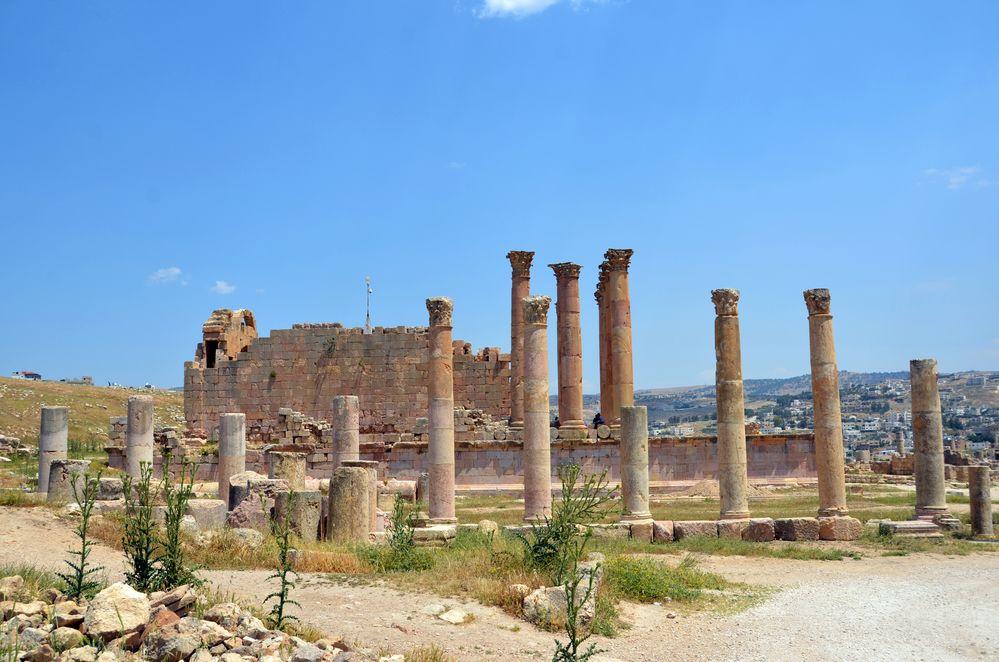 Der Artemistempel in Jerash