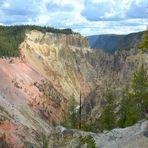Der Artist-Point am Yellowstone River