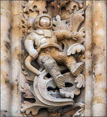 Der Astronaut am Kathedralentor
