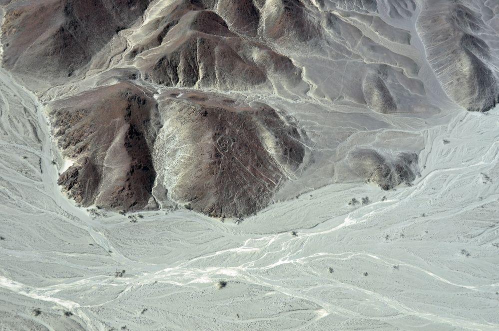 """Der """"Astronaut"""" ist eine der bekanntesten Nazca-Figuren"""