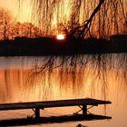 der Aufgang der Sonne in Polen