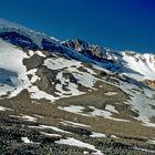 Der Aufstieg zum Thorong La in 5000 m Höhe
