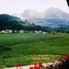 Der Ausblick aus dem Gasthof Kaspar