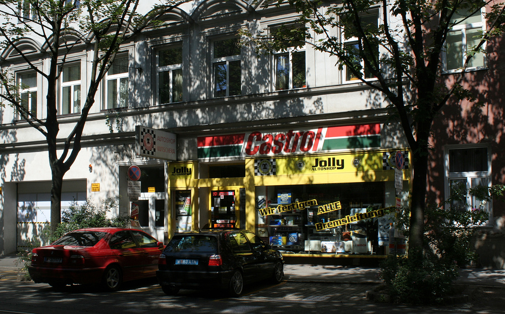 Der Autoshop Jolly Foto & Bild | europe, Österreich, wien Bilder auf ...