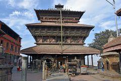 Der Bagh-Bhairav-Tempel in Kirtipur im Kathmandu-Tal