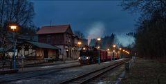 Der Bahnhof Alexisbad