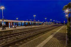 Der Bahnhof Aschersleben wird wenigstens vom Personal noch besucht