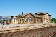 Der Bahnhof Dorsten
