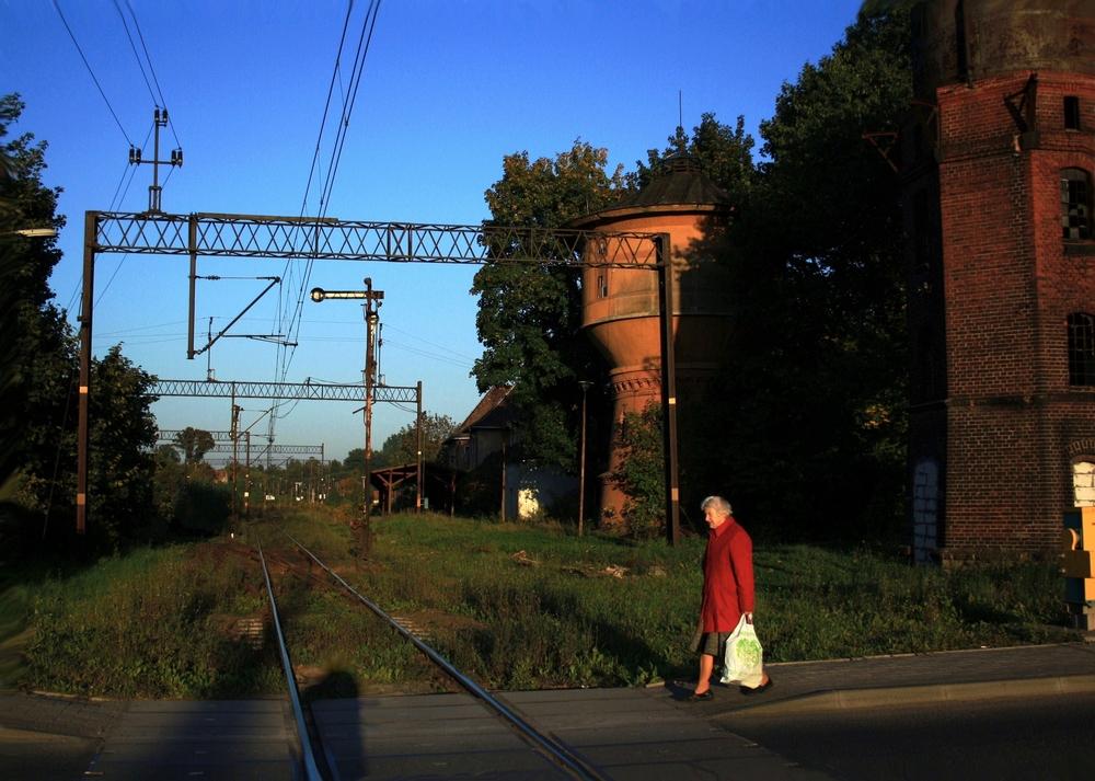 Der Bahnhof Goldberg