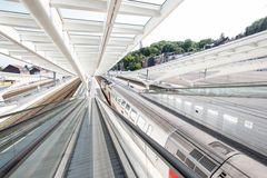 Der Bahnhof ... Linien, überall Linien ...