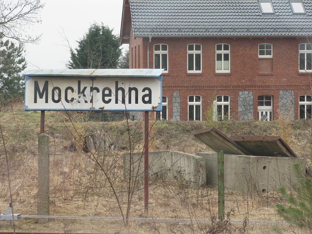 Der Bahnhof Mockrehna