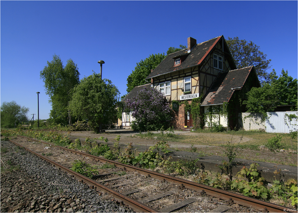 Der Bahnhof von Westeregeln