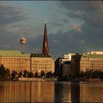 Der Ballindamm in Hamburg