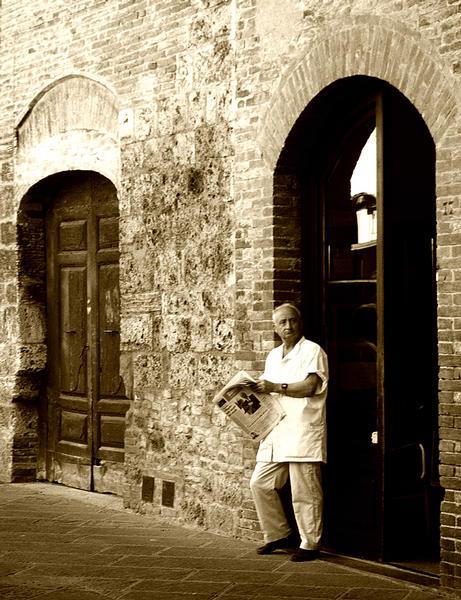 Der Barbier von San Gimignano