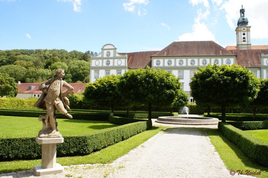 Der Barockgarten in Fürstenfeld, Fürstenfeldbruck, Bayern