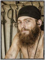 Der Bart des Schmieds