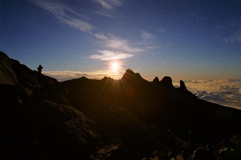 .....der Berg der Geister..........Mt. Kinabalu