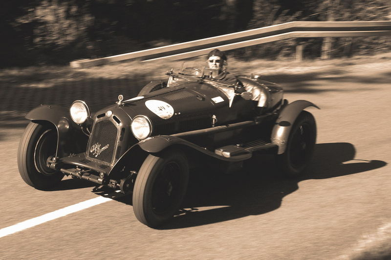 Der Berg ruft - Alfa Romeo 8C