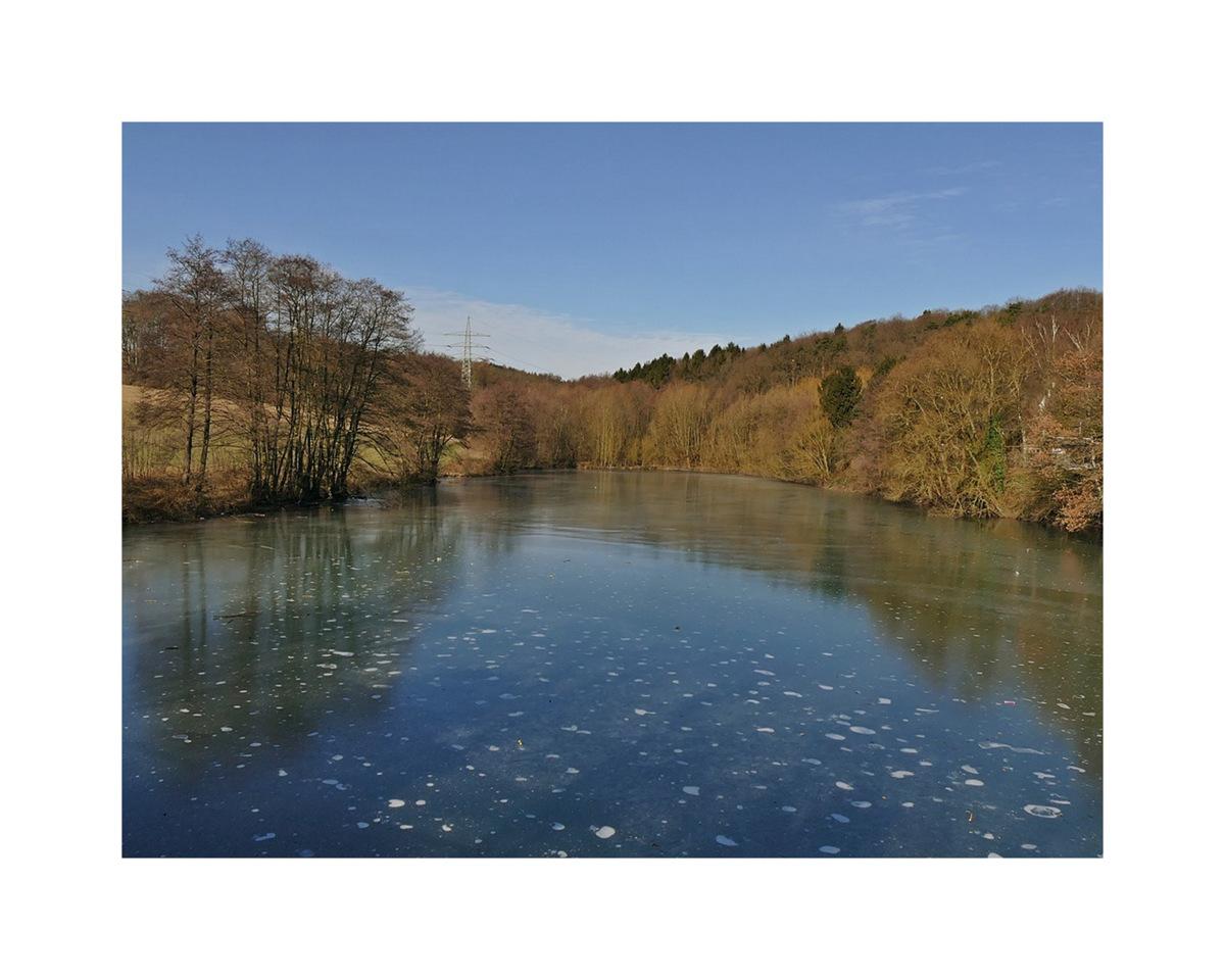 Der Berger See ( bei Gevelsberg) ...