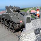 Der berühmte Panzer in Westkapelle/Zeeland