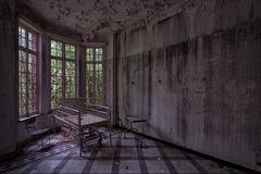 der Besucherstuhl...