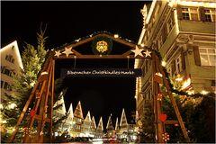 der Biberacher Weihnachtsmarkt ist wieder eröffnet !!!
