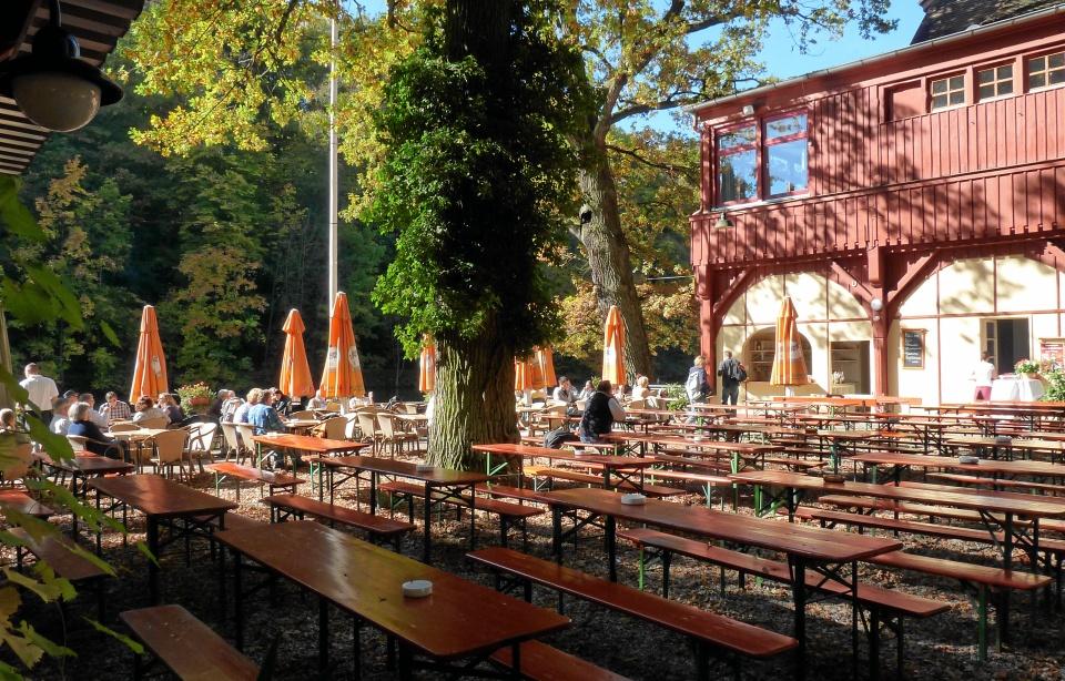 Auflagen Biergarten Bayern