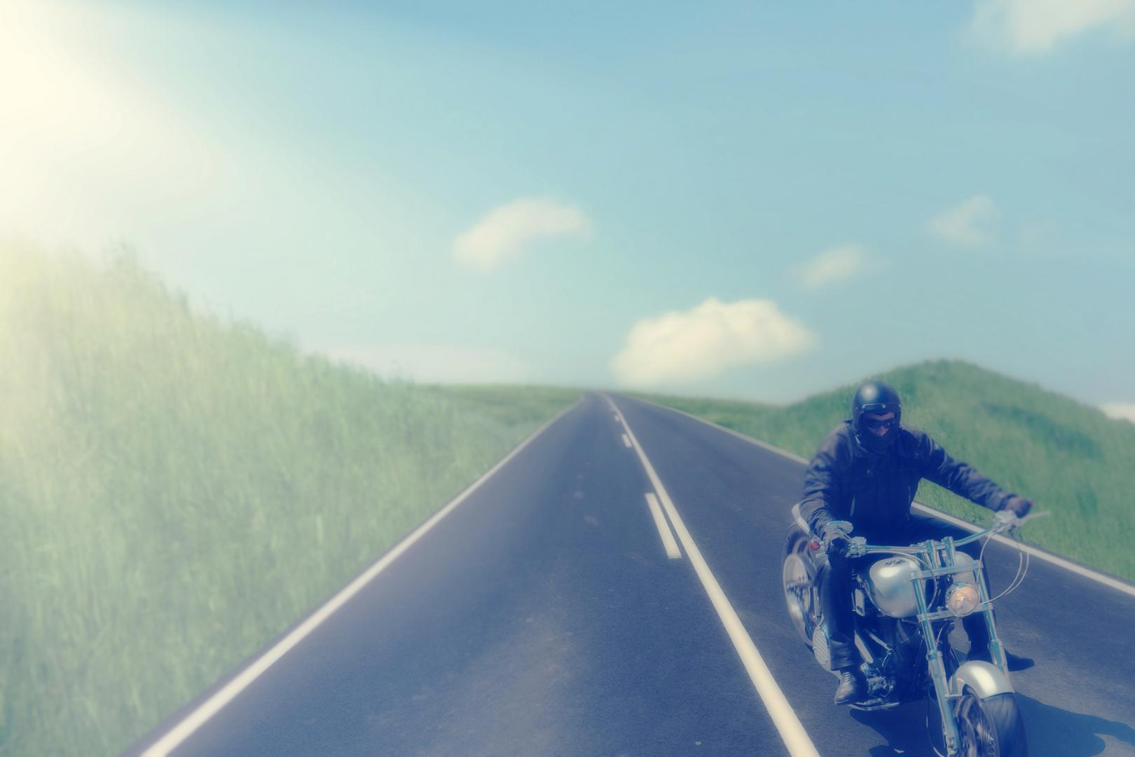 der biker...