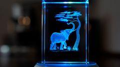Der blaue Elefant