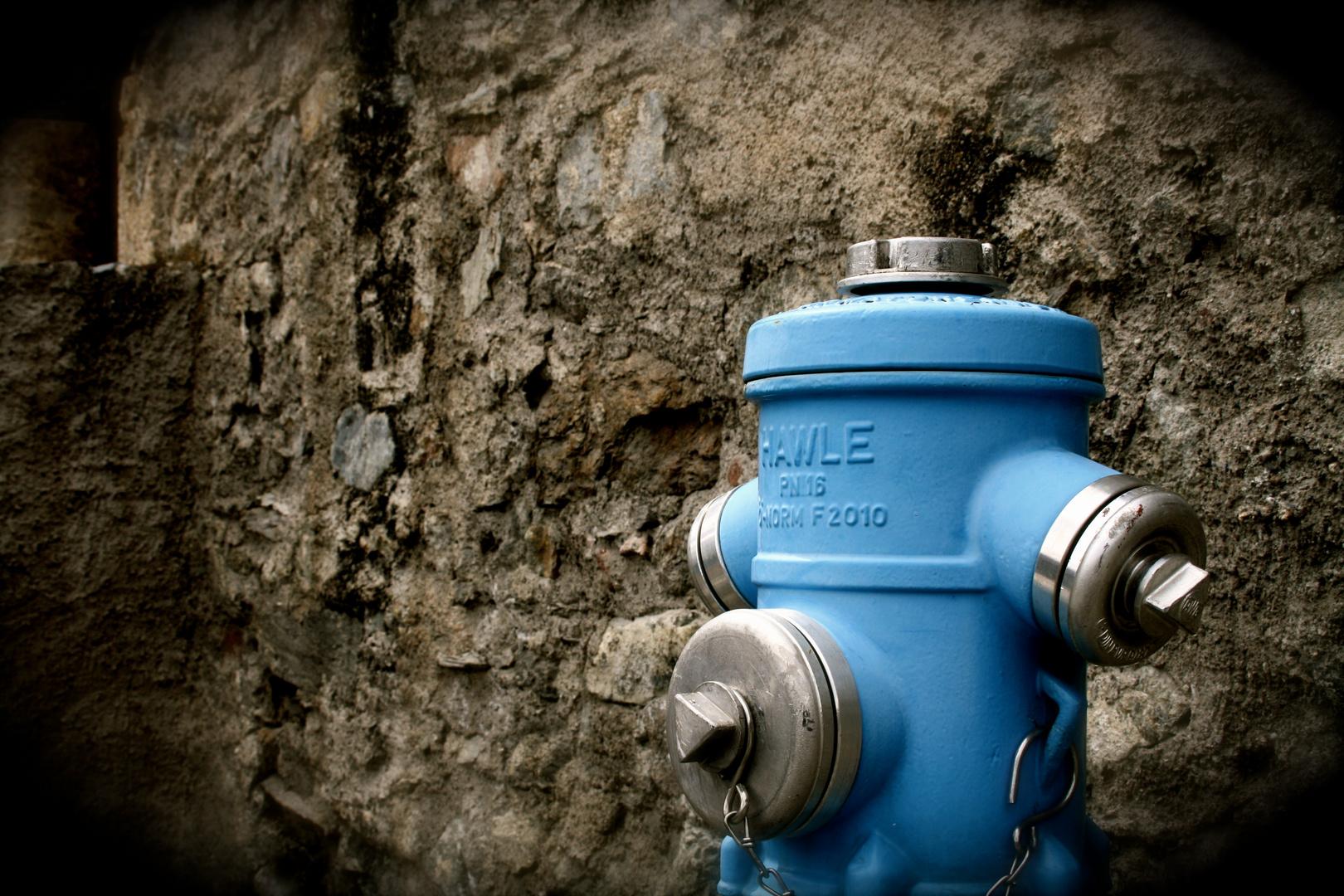 Der Blaue Hydrant