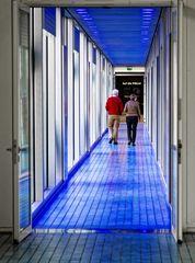 Der blaue Korridor