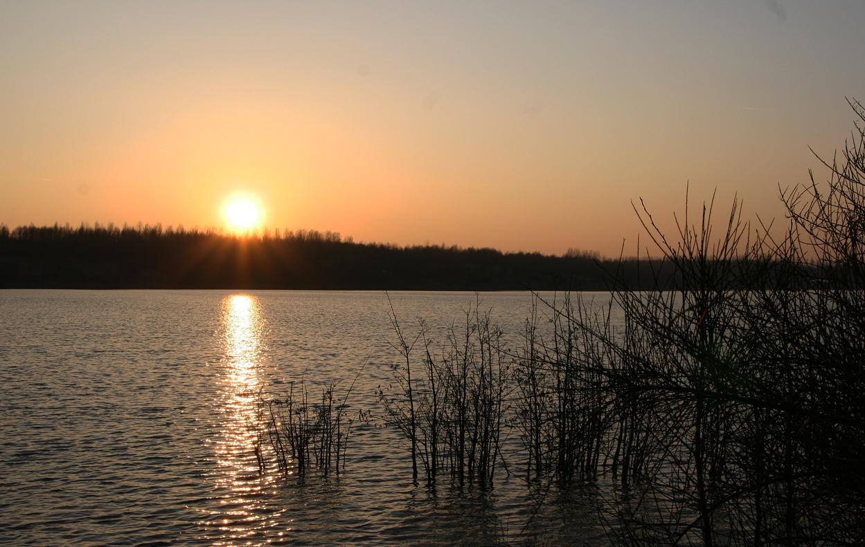Der Blausteinsee am Spätnachmíttag 3