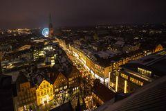 * der Blick auf Lübeck