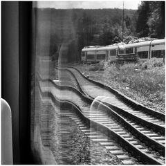 Der Blick aus dem Zugfenster kann manchmal ...