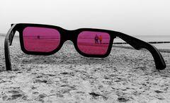 Der Blick durch die rosarote Brille