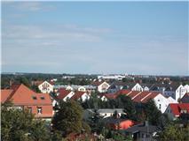 Der Blick euber Leipzig