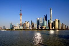 Der Blick nach Pudong