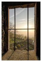 Der Blick über den Wurzgarten...