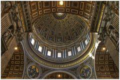 Der Blick unter die Kuppel