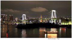 ..der Blick von Odaiba auf Tokyo...
