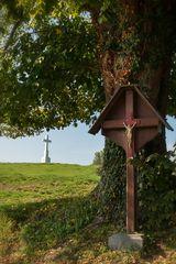 Der Blick zum Kreuz Charneux