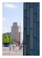 der Blick zum Strausberger Platz