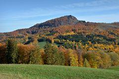 der Blick zur Milseburg 835m