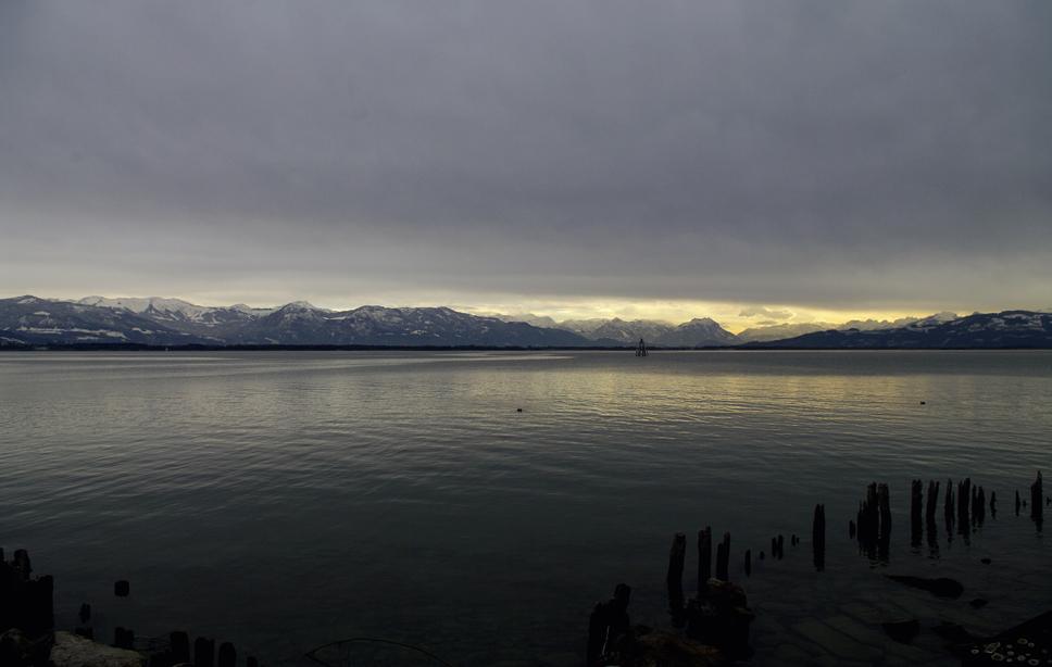 Der Bodensee bei Lindau