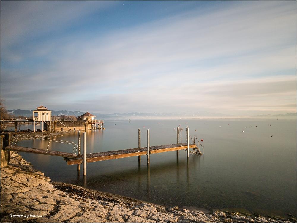 Der Bodensee bei Wasserburg