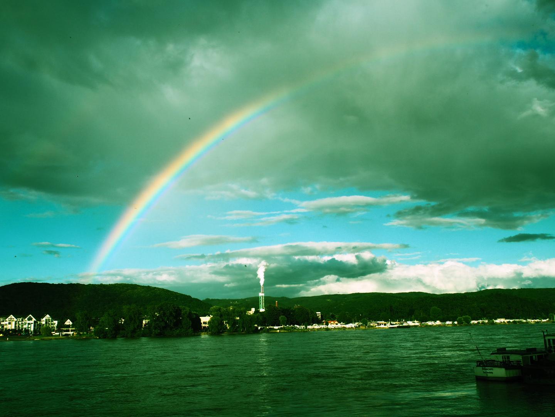 Der Bogen des Regens