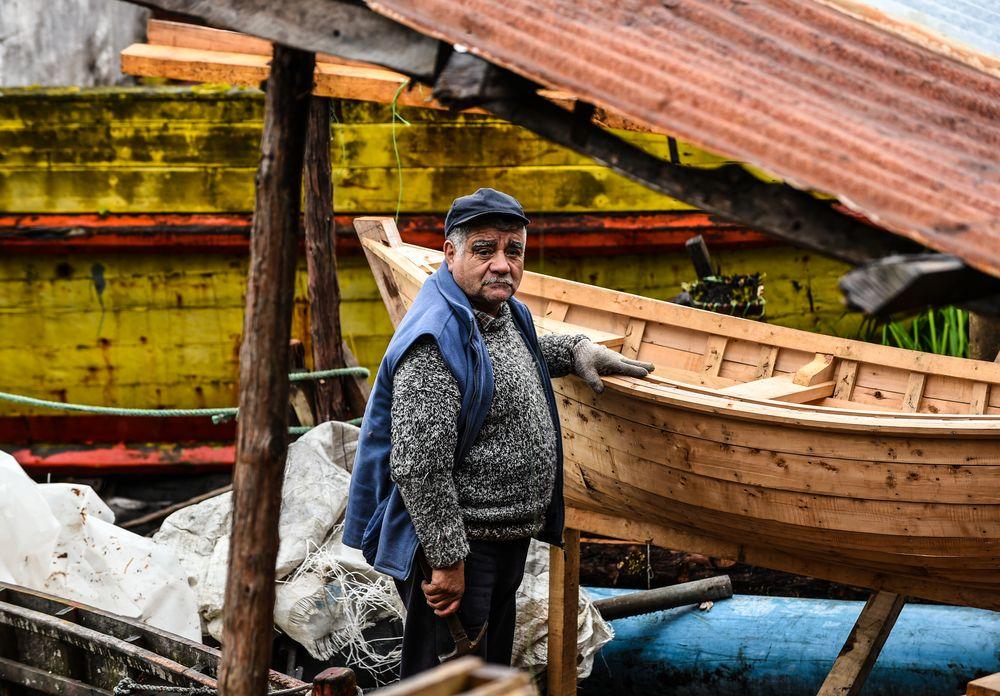 Der Bootsbauer , Puerto Eden  , Chile              DSC_5999-2