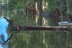 Der Bootsfaher mit dem Kennzeichen ...