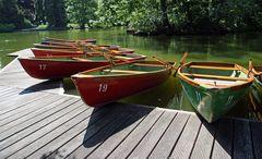 Der Bootsweiher ...
